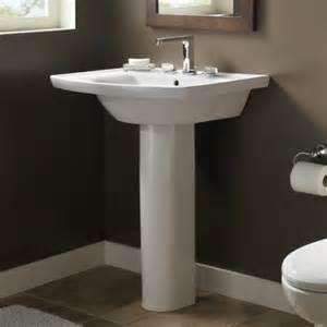 american standard pedestal sinks bathroom american standard tropic grande 0404400 pedestal sink
