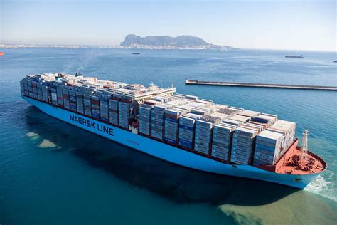 Largest Cruise Line maersk giant breaks 18 000 teu ceiling world maritime news