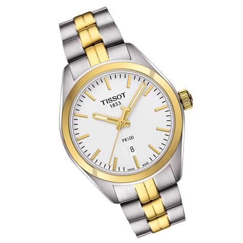 Tissot Pr 100 T1012102203100 tissot t classic pr100 swiss t101 210 22 031 00 t1012102203100 white chronospride
