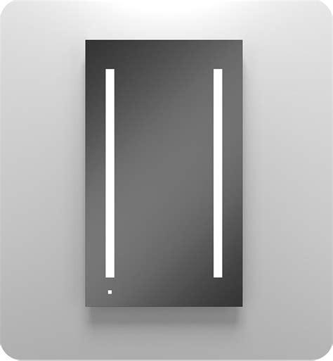 robern ac2440d4p1r aio series 23 1 4 quot single door mirrored