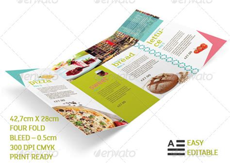 indesign menu template free restaurant menu templates graphic designs