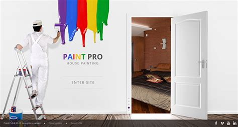 house painter boston ma paint pro house painter html5 template 300111619 on behance