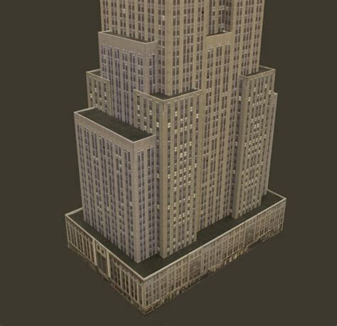 layout of empire state building model of the empire state building romeo drafting
