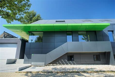 aluminium haus hausbau fassaden und dachbau aus aluminium bauherren