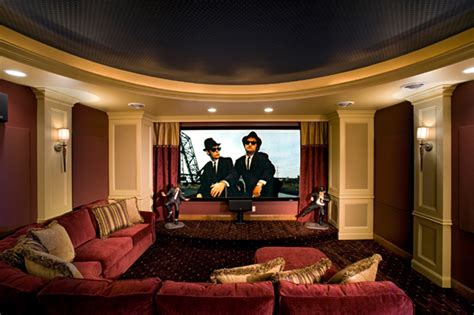 luxury house plan theater room photo 01 plan 091s 0001