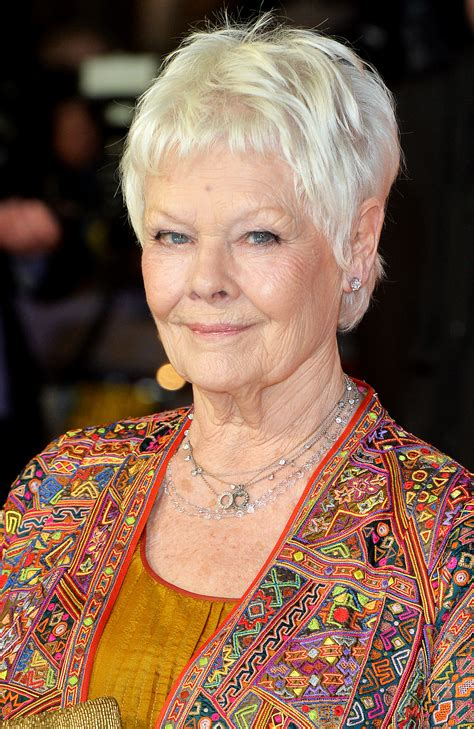 judi bench judi dench i was once told i didn t have a pretty enough