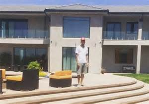 braun haus chris brown s home robbed held hostage at gunpoint