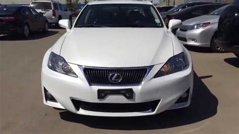 white lexus 2011 pre owned white 2011 lexus is 250 awd leather with