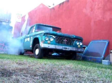 1961 dodge d100 1961 dodge d100 sweptline burnout flathead 6