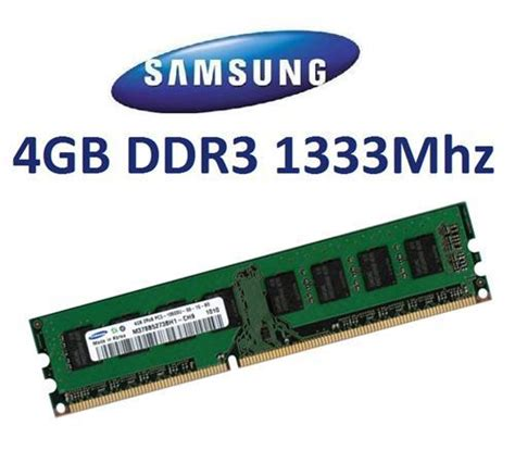 Memory Ddr3 4gb Pc10600 best deals on samsung ddr3 pc10600 1333mhz cl9 4gb m378b5273ch0 ch9 ddr3 ram compare prices