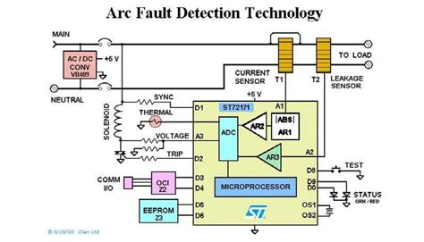 arc fault breaker wiring diagram wiring diagrams