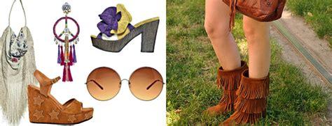 scarpe figli dei fiori hippie style dans la valise