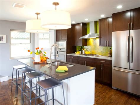 kitchen with island kitchen accessories decorating ideas hgtv pictures