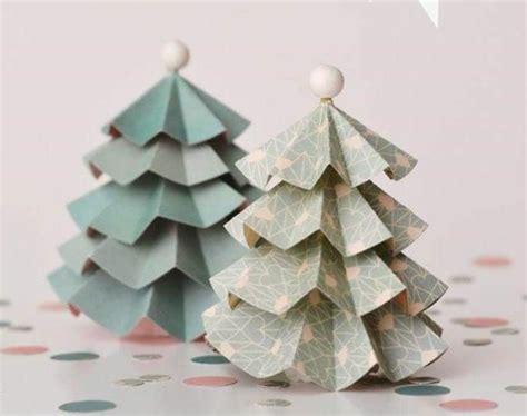 kerzenhalter h ngend weihnachtsbaum 50 bastelideen aus papier coole deko ideen f 252 r das