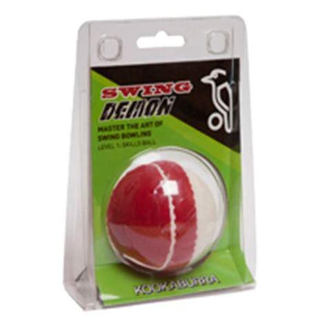 swinging testicles cricket training ball swing demon by kookaburra