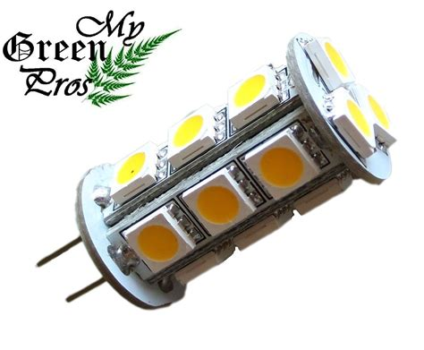 Led Landscape Light Bulbs G4 Led Bulb For Landscape Lighting 18smd 5050 Chip 3w 12v Ac 20w Replacement Ebay
