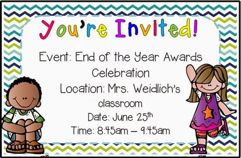 Award Ceremony Letter To Parents Lovely Literacy More Hosting End Of The Year With Awards Giveaway