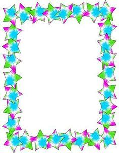 printable star frames star borders and frames clipart best