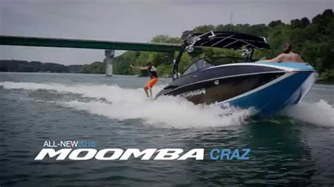 moomba boats craz 2016 moomba craz youtube