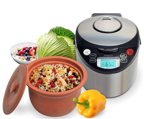 Multi Rice Cooker vitaclay smart organic multi rice cooker vm7900 6 8