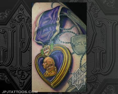 purple heart tattoo the map tattoos purple