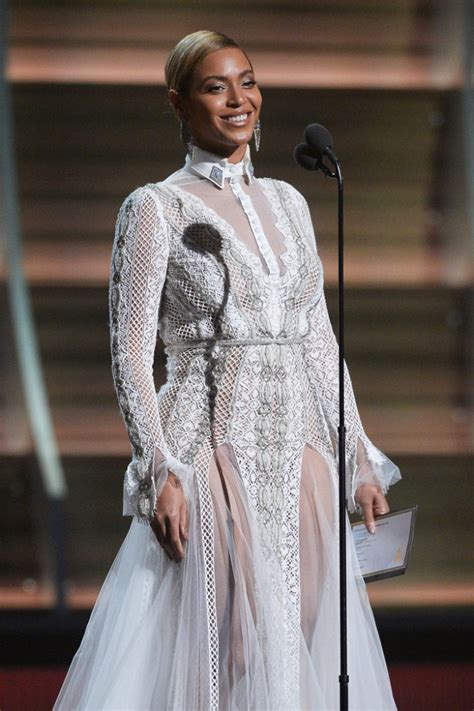 Polls Beyonces Grammy Look or hmm beyonce s 58th annual grammy awards inbal