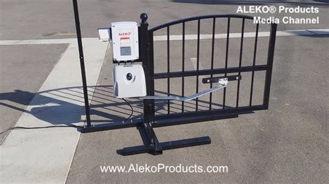 how to install swing gate opener tips to install automated swinging gates for home electric