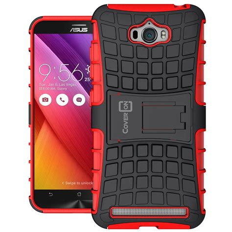 Armor Stand Layer Asus Zenfone 2 55 Inchiinci Ze551mlze550ml for asus zenfone max protective stand dual layer hybrid phone cover ebay