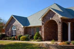 best roof color for brick house selecting roof colors to complement brick and
