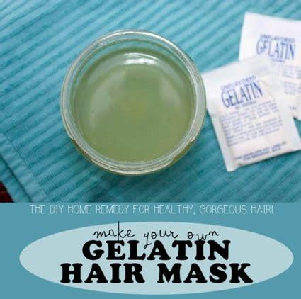 diy gelatin mask diy gelatin hair mask recipe for soft hair homestead