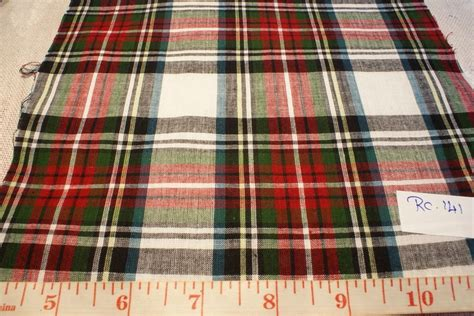 Plaid Patchwork Fabric - madras plaid madras fabric preppy plaid or madras