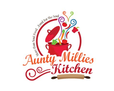 kitchen logo design logo design entry number 66 by peg770 aunty millies
