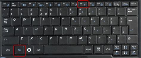 Keyboard Wifi turning wifi on on your laptop digital