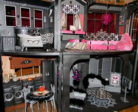 how to make monster high doll house my custom monster high house monster high dolls com