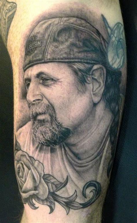 tattoo nightmares dad portrait unify tattoo company tattoos pepper dad s portrait