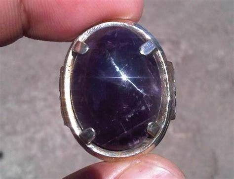 Batu Kecubung Ungu Kalimantan dinomarket pasardino batu kecubung kalimantan warna ungu terong