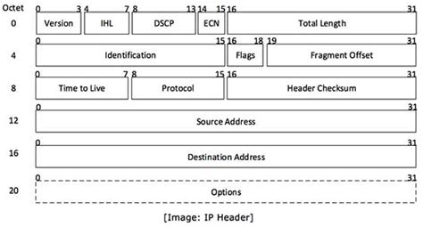network packet layout ipv4 packet structure