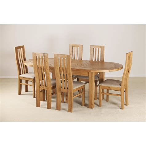 extendable dining table and 6 chairs homestead living d end extendable dining table and 6