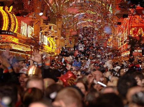 new year las vegas parade fremont experience to rock in the new year with