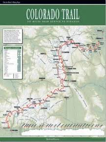 colorado hiking maps colorado trail map blackwoods press