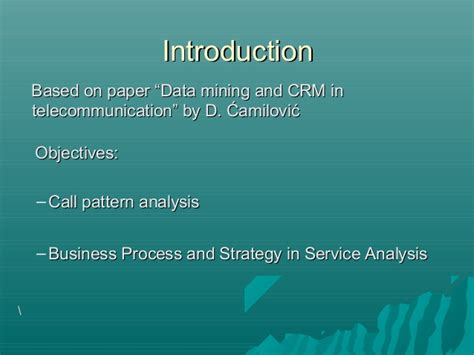 pattern analysis segmentation customer segmentation an analytical crm approach to