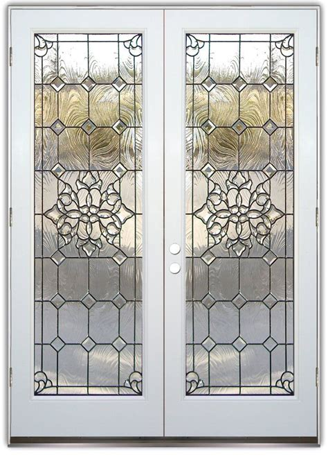 Leaded Glass Exterior Doors Best 25 Glass Entry Doors Ideas On Doors With Glass Front Door Entry And