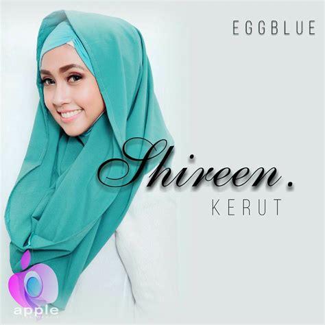 Hoodie Shireen Godir Grosir shireen kerut by apple pusat grosir jilbab modern