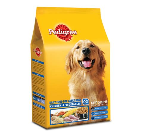 pedigree food pedigree food chicken vegetables 15 kg