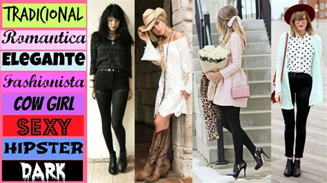 imagenes figurativas elaboradas en los distintos estilos tipos de estilos de vestir segun tu personalidad canal