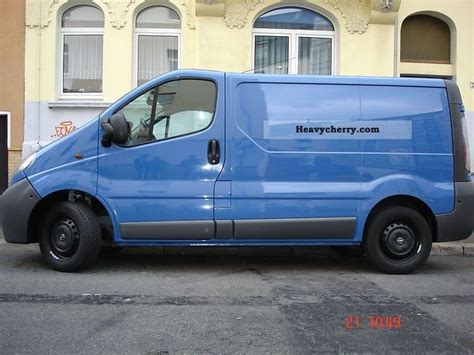 opel vivaro 2005 opel vivaro 2005 other vans trucks up to 7 photo and specs