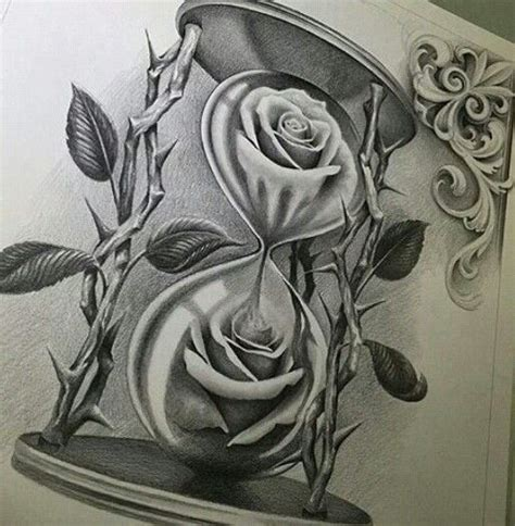 hourglass and rose tattoo best 25 chicano drawings ideas on chicano