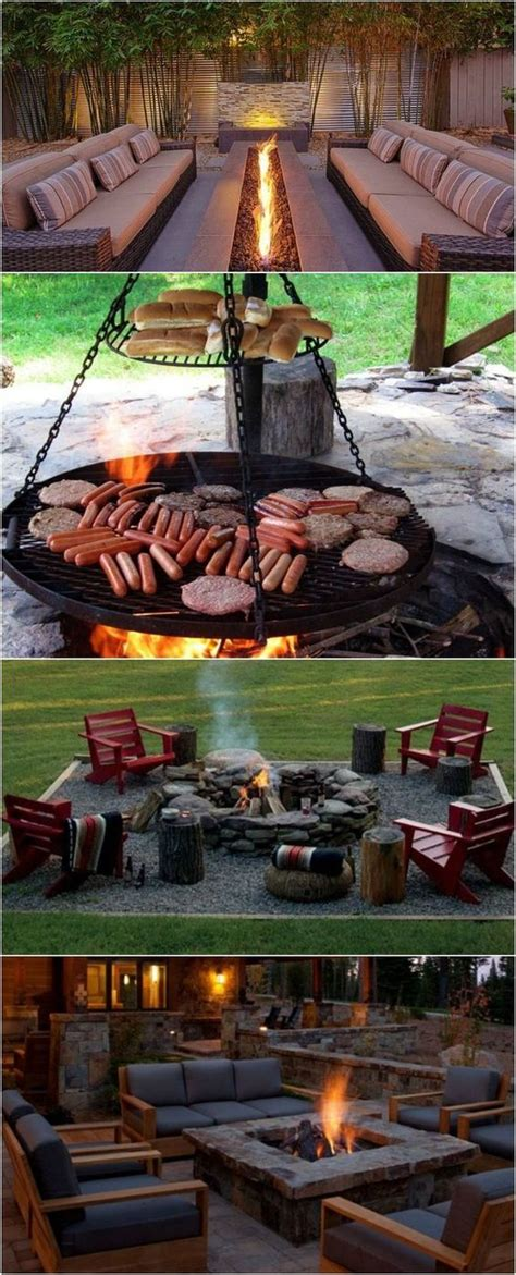 Backyard Bbq Pit Ideas 25 Best Ideas About Backyard Decorations On Pinterest Yard Decorations Outdoor Decor And
