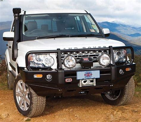 land rover discovery road bumper discovery 3 arb winch bumper landyzone land rover forum