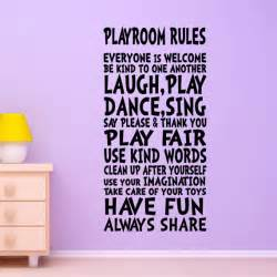 wall decal playroom decor sign for by